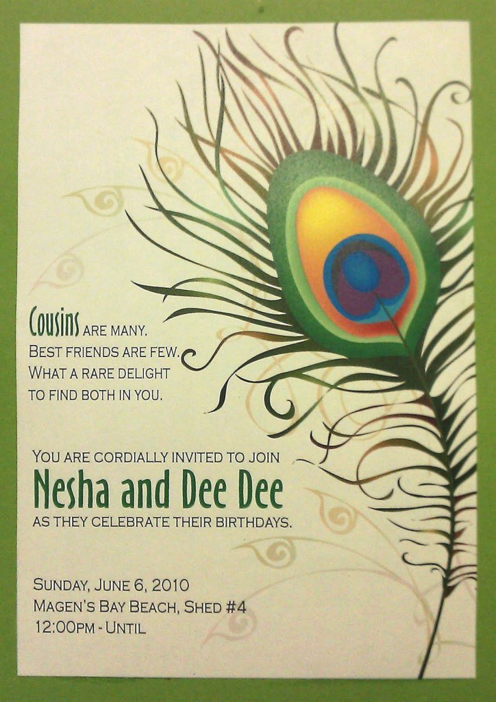 cousin invite